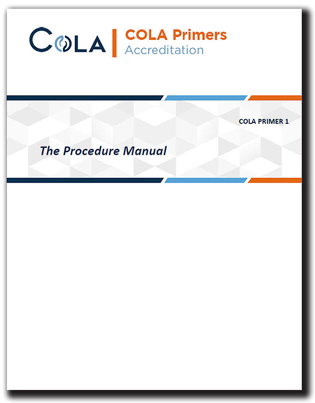 The Procedure Manual - Primer Cover